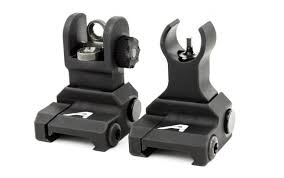 image of aero pop up sights for ar15 monarch arms for sale online